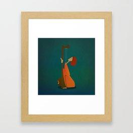 Tansen Framed Art Print