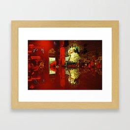 Bar Top Framed Art Print