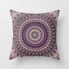 Mandala DCV Throw Pillow