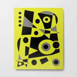 Abstract #972 Metal Print