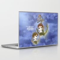 larry stylinson Laptop & iPad Skins featuring Larry Stylinson - Anchor and rope by Yorlenisama