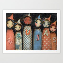 Brujas/Witches by For Larios Art Print