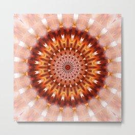 Mandala tenderness Metal Print