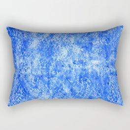 Color gradient and texture 22 light blue Rectangular Pillow