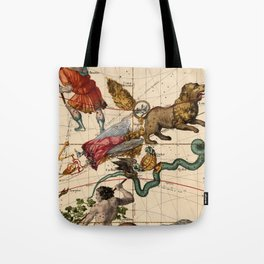 Constellation Chart 1693d Tote Bag
