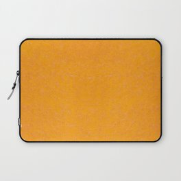 Yellow orange material texture abstract Laptop Sleeve
