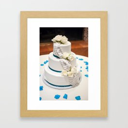 Birthday Cake Framed Art Print