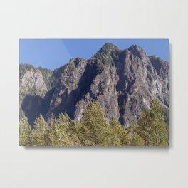 Wonderful Mountains Metal Print