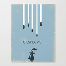 C´est la vie... Canvas Print