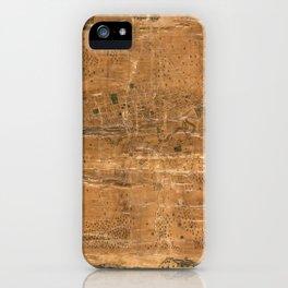 Map Of Jamestown 1856 iPhone Case