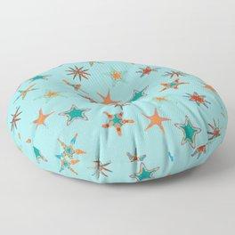 Fish tales: Starfish pattern 1d Floor Pillow