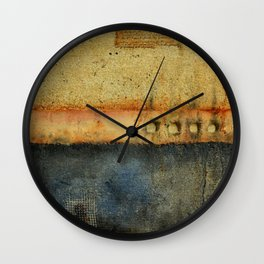 Trapped Between the Spaces of Time Wall Clock
