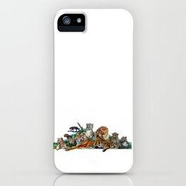Big Cats Collage iPhone Case