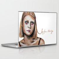 tenenbaum Laptop & iPad Skins featuring Margot Tenenbaum  by Bella Harris