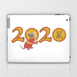 2020 The Year of the Metal Rat Laptop & iPad Skin