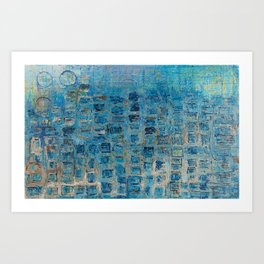The windows of happiness Art Print