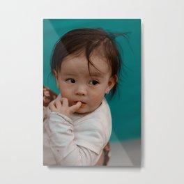 Cute baby Metal Print