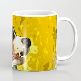 bernese mountain dog vector art Coffee Mug