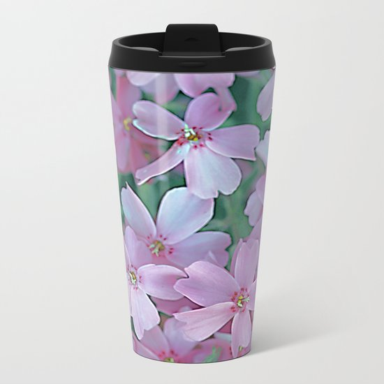 Flower Carpet(63) Metal Travel Mug