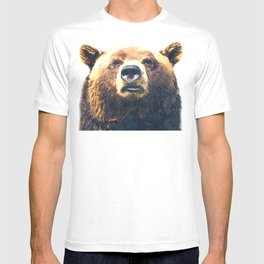 Bear portrait T-shirt