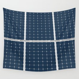 Solar Cell Panel Wall Tapestry