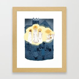 Our Lady of Knock Framed Art Print