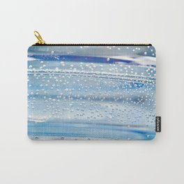 Air bubbles in bottle of water Carry-All Pouch