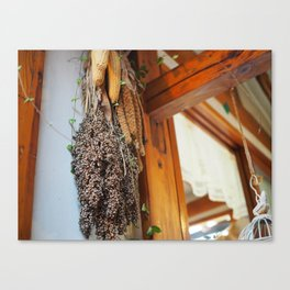 Woodwork and Whimsy Canvas Print