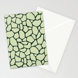 Stone floor mosaic Stationery Cards