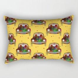 Car Pattern Rectangular Pillow