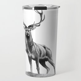 All Muscle - Red Deer Stag Travel Mug