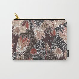 Australian native flower pattern Carry-All Pouch