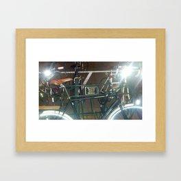 Peaceful Ride Through Life Framed Art Print