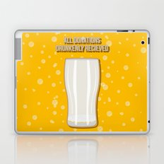 All Donations Drunkenly Received Laptop & iPad Skin