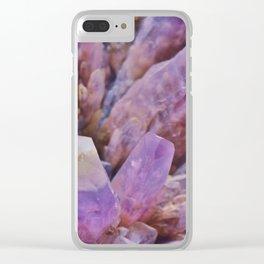 EEB. Amethyst Clear iPhone Case