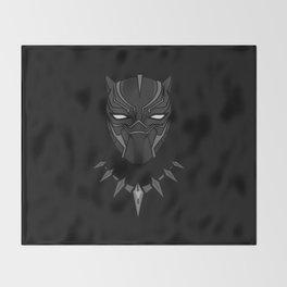King of T'Chaka ( Black Panther ) Throw Blanket