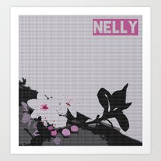 Nelly Art Print