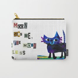 I see the moon nursery rhyme Carry-All Pouch