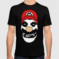 Misfit Mario MEDIUM Black Mens Fitted Tee