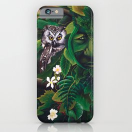 Celtic Green Man iPhone Case