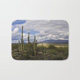 A Sonoran Winter Day Bath Mat