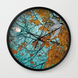 autumn afternoon Wall Clock