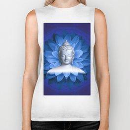 Buddha Healing Biker Tank