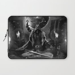 I. The Magician Tarot Card Illustration Laptop Sleeve