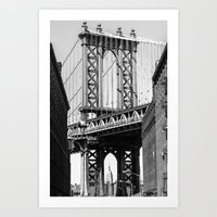 dumbo Art Prints featuring Dumbo by North Sky Photography