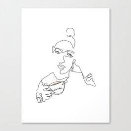 Morning Coffee Canvas Print