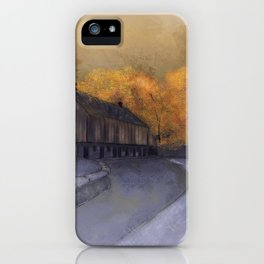 At Just Dawn iPhone Case