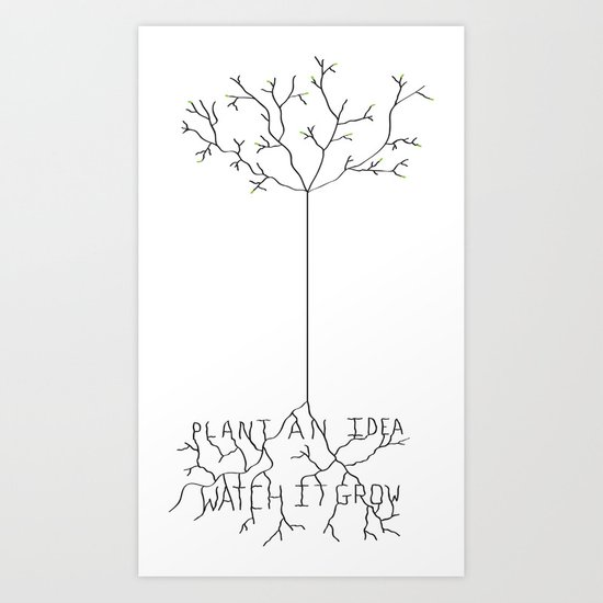 Idea Tree Art Print