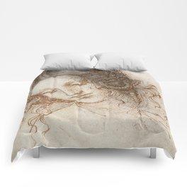 Leonardo da Vinci - Head of Leda Comforters