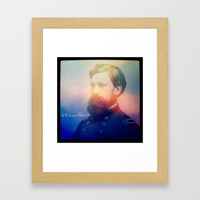Howard. 1830-1909. Framed Art Print